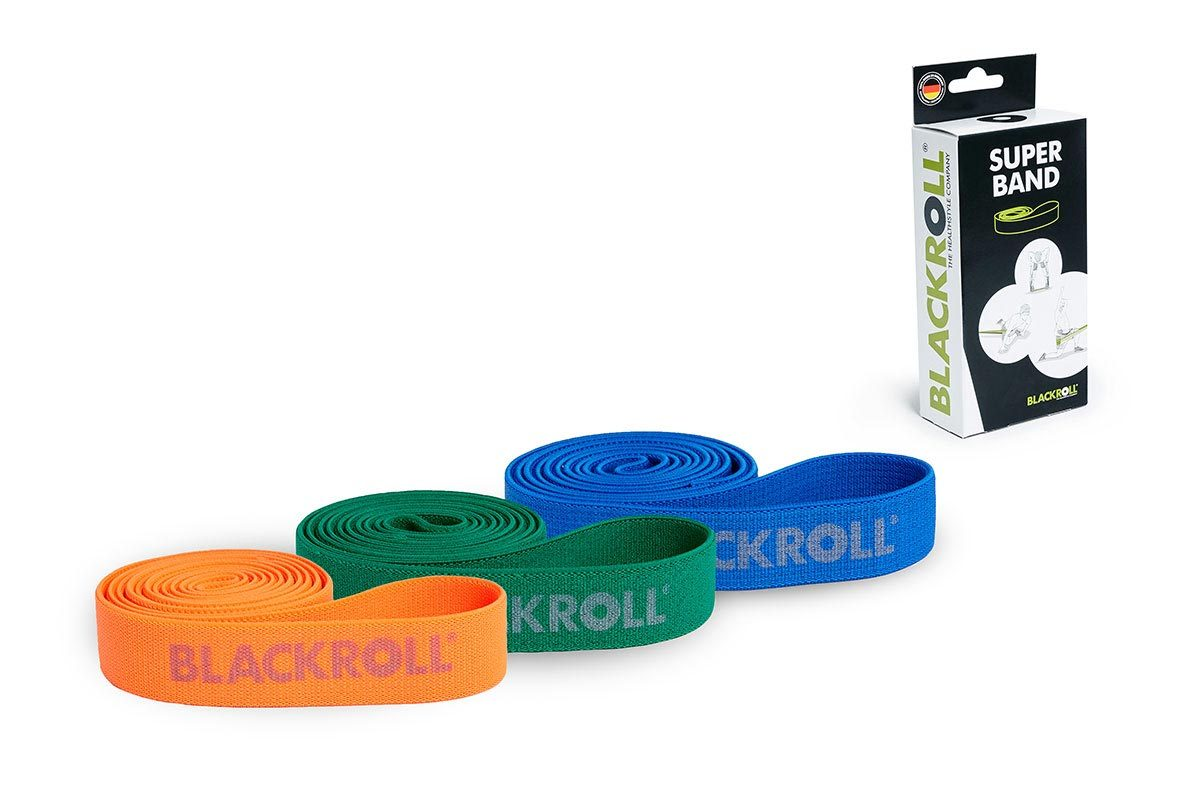 BLACKROLL® SUPER BAND SET orange, green, blue
