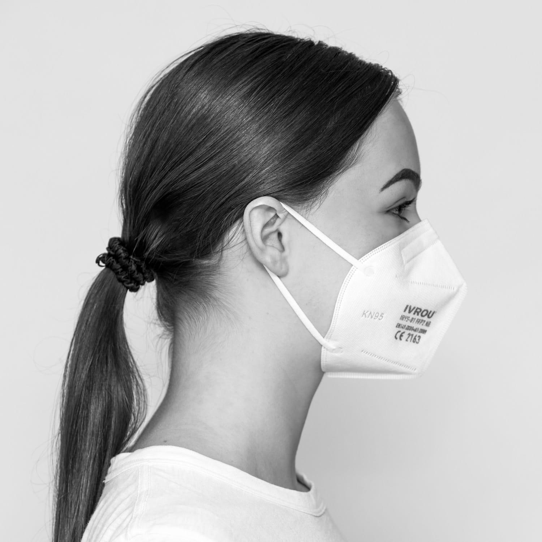 Atemschutzmaske Ivrou, FFP2, 50 Stück