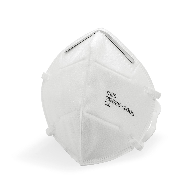 Atemschutzmaske, filtrierende Halbmaske KN95, 50 Stück