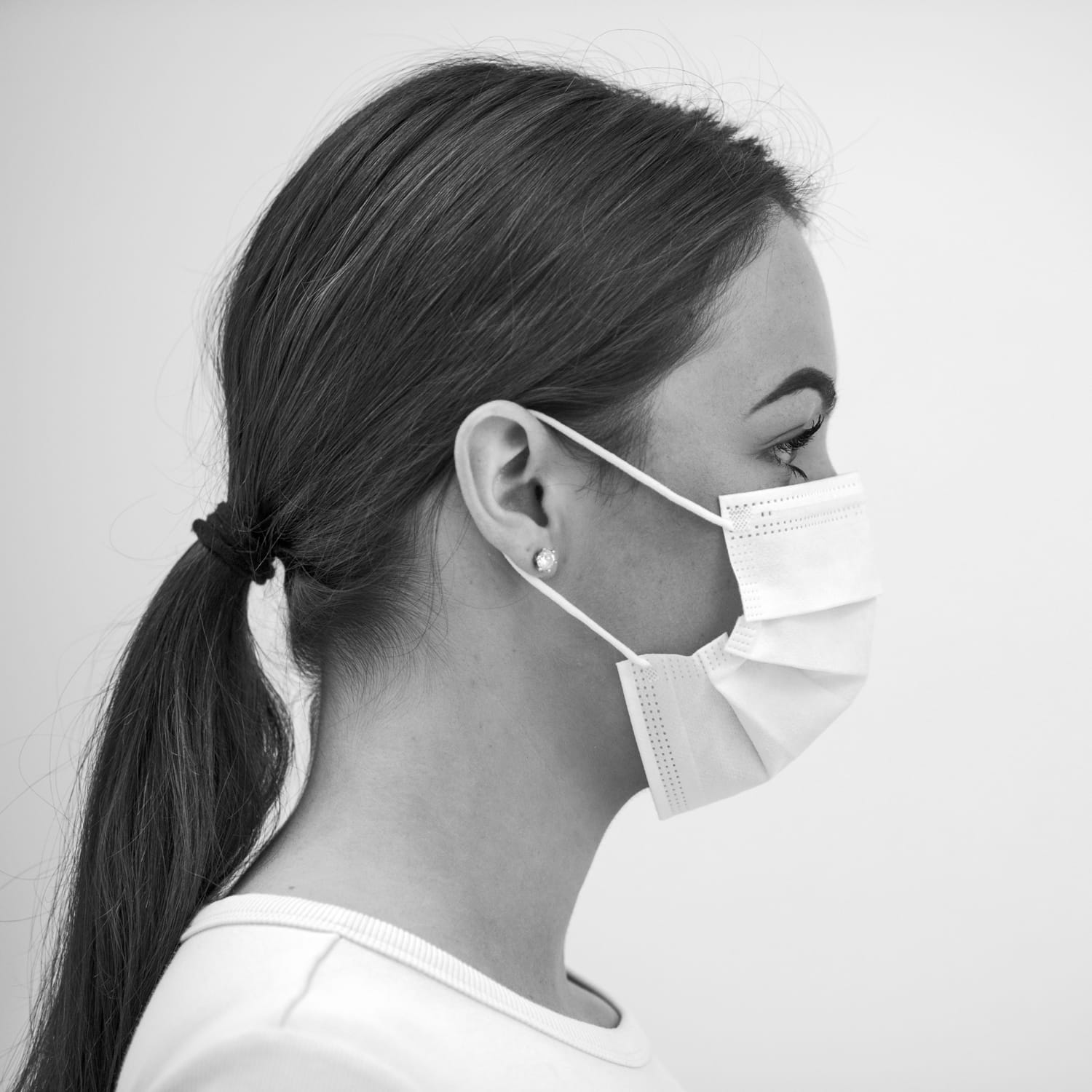 Disposable medical face mask Type IIR, 3-layer with ear loops, 50 units