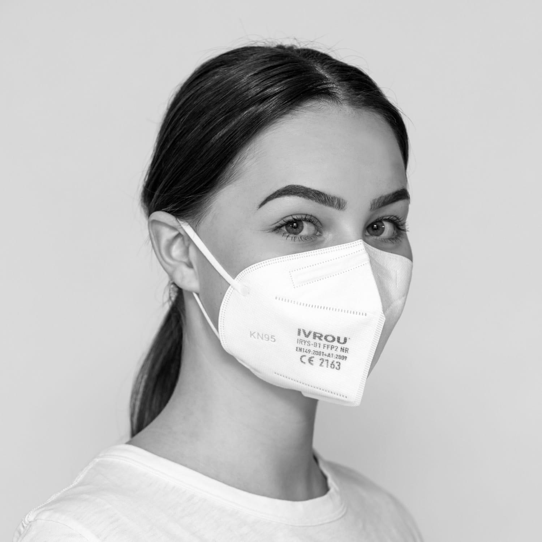 Atemschutzmaske Ivrou, FFP2, 3er Pack