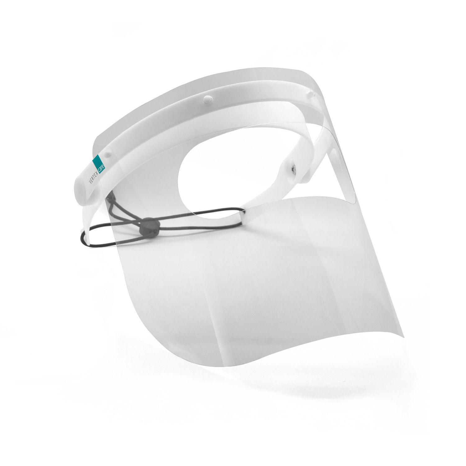 Multifunctional face protector with 5 full visors + 5 loupes visors